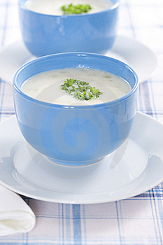 Onion Pureed Soup Royalty Free Stock Images - Image: 17669249