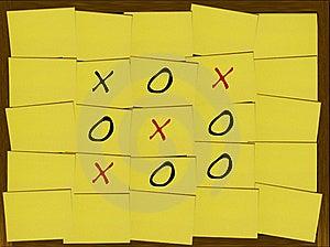 Tic-Tac-Toe Stock Photos - Image: 17670523