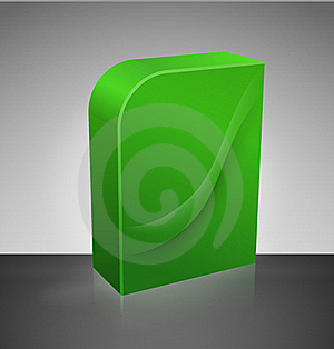 Blank Dvd Box Royalty Free Stock Photos - Image: 17672238