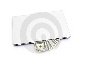 E-commerce Concept With Euro And Laptop Royalty Free Stock Photos - Image: 17672638