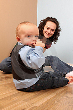 Mother And Son Royalty Free Stock Image - Image: 17672746