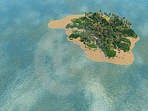 Fantastic Island Stock Photography - Image: 17673692