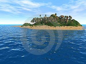 Fantastic Island Stock Image - Image: 17673731