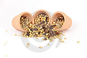Spices Mixed Royalty Free Stock Photos - Image: 17675558