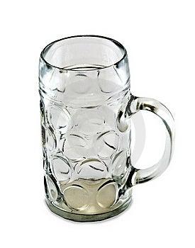 Empty One Liter Beer Mug Royalty Free Stock Photo - Image: 17675905