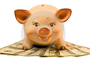 Piggy Bank (moneybox) Royalty Free Stock Photos - Image: 17678798