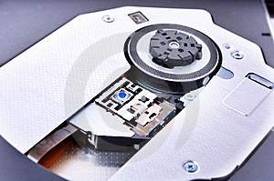 Disk Drive Close Up Stock Image - Image: 17678841
