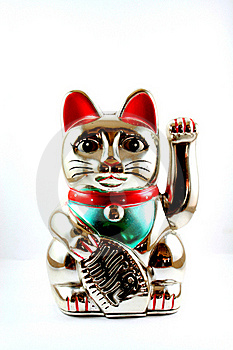 Cats Sacred Royalty Free Stock Image - Image: 17679116
