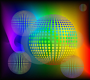 Abstract Rainbow Background. Royalty Free Stock Photos - Image: 17680988