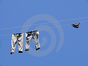 Sky And Jeans Royalty Free Stock Photo - Image: 17681995