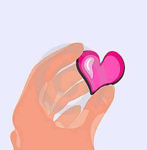 Heart In The Hand Stock Images - Image: 17684364