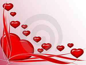 Valentine Greeting Card Royalty Free Stock Image - Image: 17684496