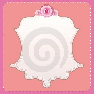 Rose Template Stock Images - Image: 17685014