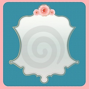 Roses Template Royalty Free Stock Images - Image: 17685039