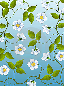 Decorative Floral Background Royalty Free Stock Photos - Image: 17685068