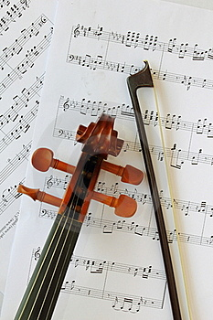 Violin Head Stock Images - Image: 17685314