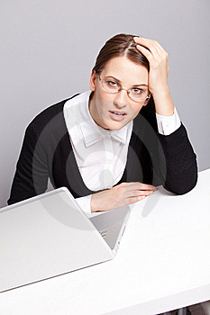 Tired Manager Royalty Free Stock Image - Image: 17685786
