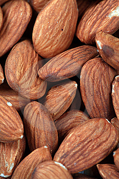 Almonds Background Royalty Free Stock Images - Image: 17685899