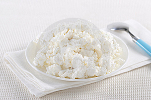 Cottage Cheese Stock Photos - Image: 17686833