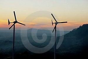 Wind Turbine Royalty Free Stock Photo - Image: 17687385