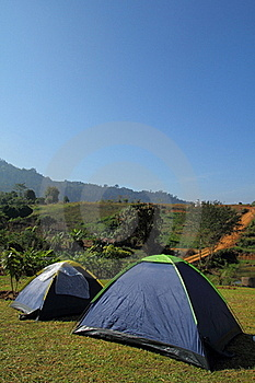 Tent Camping Royalty Free Stock Images - Image: 17687839
