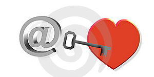 Letter To My Heart Royalty Free Stock Photo - Image: 17688475