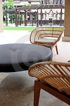 Hotel Relaxation Corner Royalty Free Stock Image - Image: 17690076