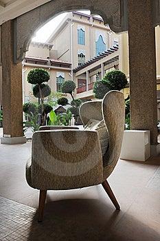 Hotel Relaxation Corner Royalty Free Stock Image - Image: 17690246