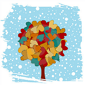 Love Tree Stock Images - Image: 17690904