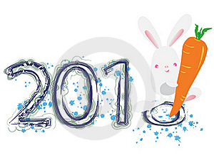 2011 Year Of The Rabbit Stock Photos - Image: 17691273