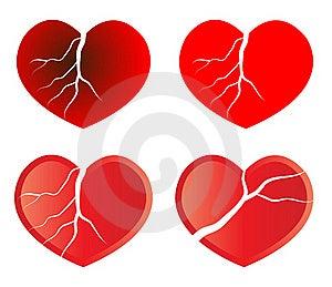 Broken Heart Royalty Free Stock Photos - Image: 17691558