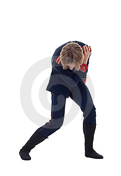 Ballet Figurant Giving A Bow Stock Image - Image: 17692451