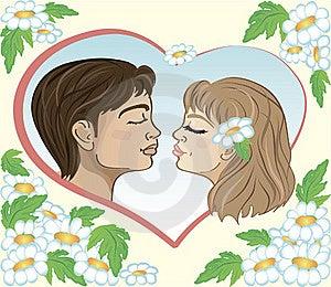 First Kiss Stock Photos - Image: 17696023