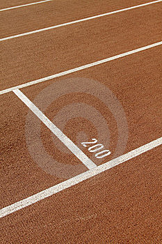 Stadium With Running Tracks Royalty Free Stock Photography - Image: 17697167