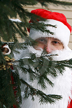 Father Frost Or Santa Claus Royalty Free Stock Photos - Image: 17697678