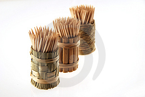 Wooden Toothpicks Royalty Free Stock Photos - Image: 1770438