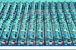 Sound Mixing Console Royalty Free Stock Images - Image: 1776059