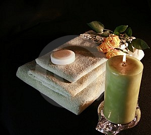 Romantic Bath Equipment Royalty Free Stock Photography - Image: 1776327