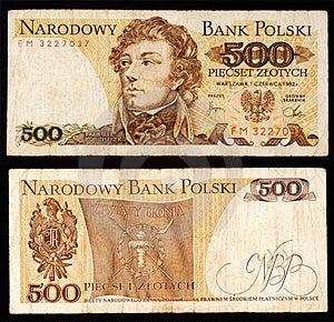 Valuta Polacca Fotografie Stock - Immagine: 1776753