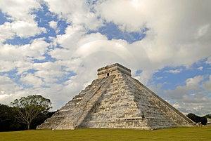 One Pyramid Stock Photo