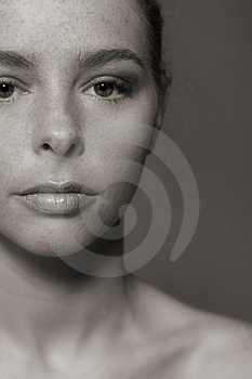 My darky Face Royalty Free Stock Photo