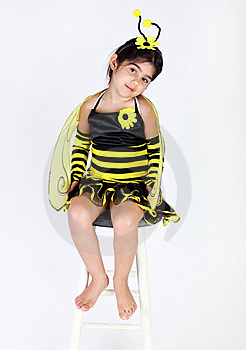 Bee Costme Stock Image - Image: 17704701