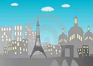 Paris Background Stock Images - Image: 17705234