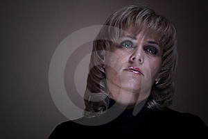 The Blonde A Portrait Royalty Free Stock Photo - Image: 17706745