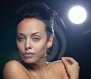 Portrait Of Young Woman Royalty Free Stock Images - Image: 17711609