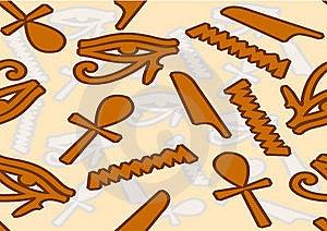 Symbols Of Egypt Royalty Free Stock Photo - Image: 17711735