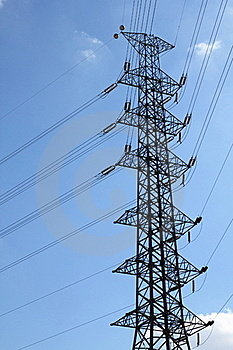High-voltage Towers. Stock Photos - Image: 17712203