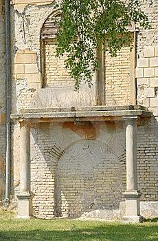Blind Brick Windows Royalty Free Stock Images - Image: 17714399