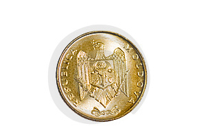 Gold Coin Modern Royalty Free Stock Image - Image: 17714996