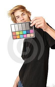 18% Gray White Balance Color Card Stock Photos - Image: 17716703